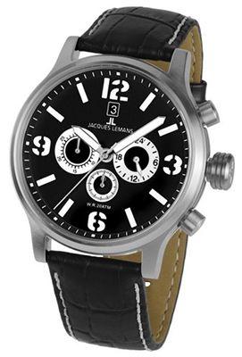 Jacques Lemans Herren Armbanduhr XL für 95,34€ (statt 149€)