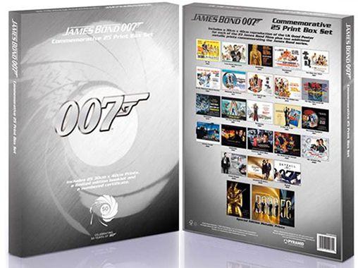 James Bond Limited Edition Print Set für 23€