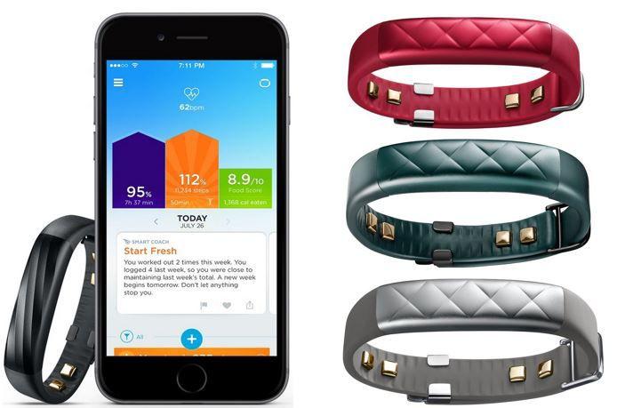 Jawbone Aktion Jawbone JL04 0303ABD EU1 UP3 Bluetooth Aktivitäts und Schlaftracker für 129,90€