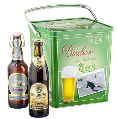 Kalea Bier Box Kalea Bier Box für 23,45€ (statt 35€)   9 ausgewählte Biere für Fußballfans