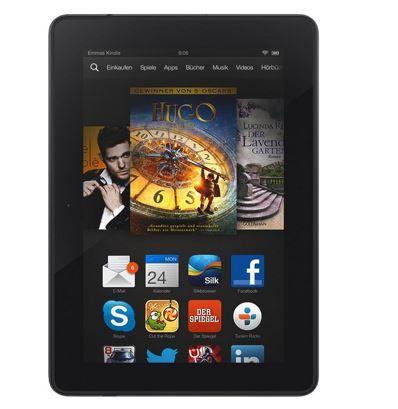 Kindle Fire HDX Tablet mit 7 Zoll HDX Display WLan + 4G für 179€