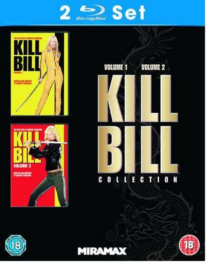 Kill Bill Quentin Tarantinos: Kill Bill 1 + 2 auf Blu ray für zusammen nur 8,32€