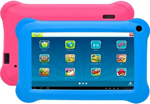 Kindertablet Denver TAQ 70212K   7 Zoll 8GB Android 4.4 WLAN Tablet für 59,90€