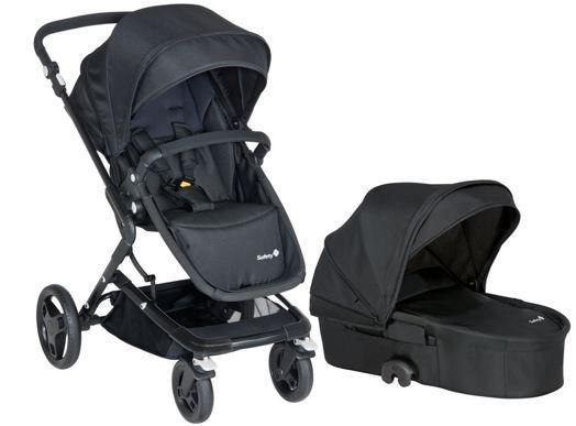 Kinderwagen Safety 1st Kokoon Comfort Full Black   Kombikinderwagen statt 199€ für 149,73€