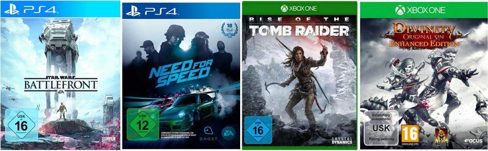 Konsolen Games günstig bei CONRAD dank Gutschein