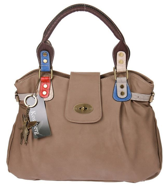 Kossberg Elly   Damenhandtasche im Elfen Design für 19,99€