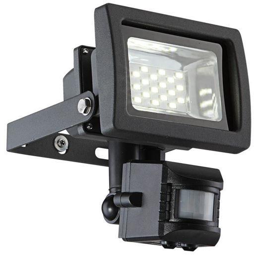 LED STrahler Globo 10W LED Flutlichtstrahler mit Bewegungsmelder für 19,90€