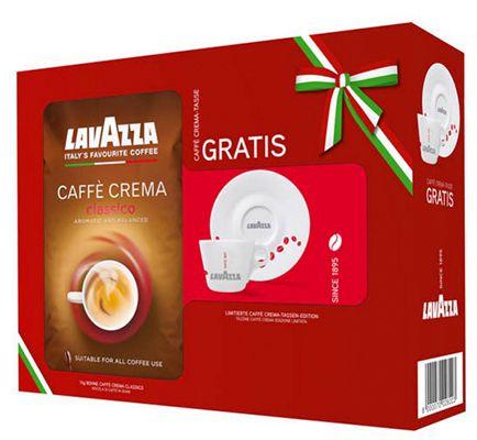 Lavazza Caffè Crema Classico Lavazza Caffè Crema Classico ganze Bohnen 1kg + gratis Tasse ab 9,99€