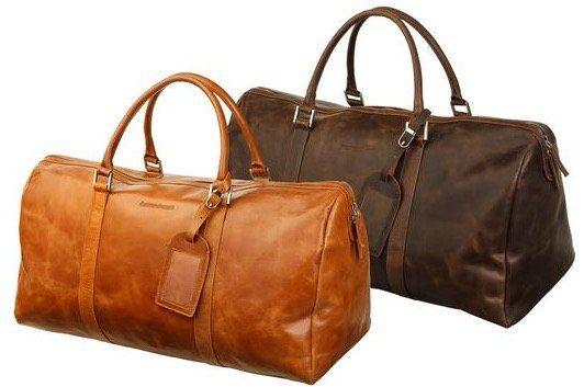 Leder Reisetasche in 2 Farben für je 115,90€ (statt 220€)