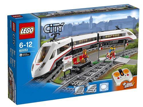 Lego City Hochgeschwindigkeitszug Lego City Hochgeschwindigkeitszug für 80,74€ (statt 93€)