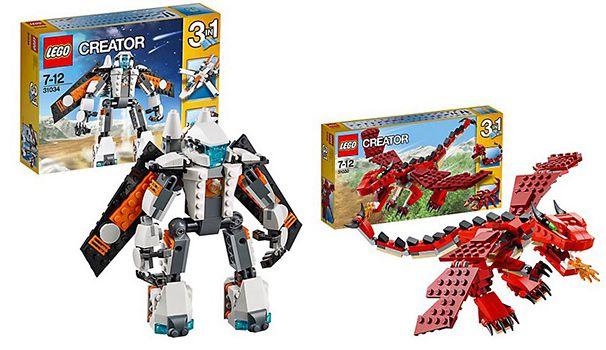 Lego Creator 20% Rabatt auf Lego Creator   z.B. Weihnachtliche Werkstatt ab 49€ (statt 68€)