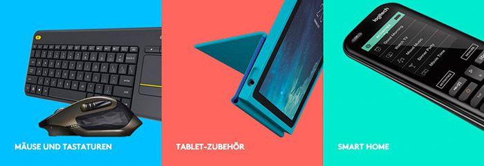 Logitech Rabatt1 35% Rabatt auf ALLES bei Logitech   z.B. iPad Pro Tastatur mit Case für 97€ (statt 143€)