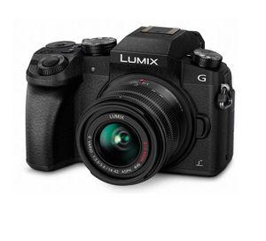 Panasonic DMC G70KEG K Systemkamera + Objektiv Lumix G Vario F3,5 /14 42 + Zubehör für 499€ (statt 568€)
