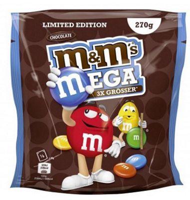 M&Ms MEGA Chocolate (5 x 270g) ab 11,11€