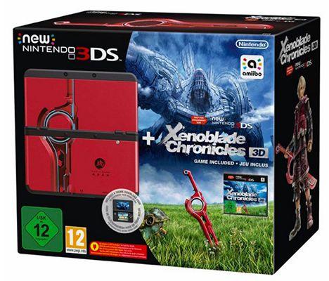 Nintendo New 3DS + Xenoblade Chronicles 3D Pack für 169,89€ (statt 221€)