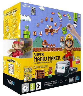 Nintendo Wii U Super Mario Maker Nintendo Wii U Super Mario Maker Premium Pack für 233,10€ (statt 270€)