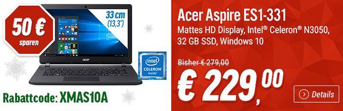 Notebooksbilliger1 Notebooksbilliger Angebote   z.B. Acer Notebook für 229€ (statt 279€)