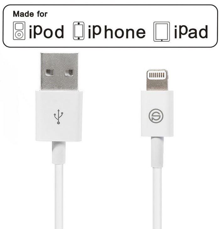 OPSO OPSO   Lightning auf USB Kabel Sync  & Ladekabel [Apple MFI zertifiziert] für 2,99€