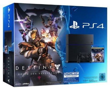 PS4 Bundle PS4 500GB + Destiny: König der Besessenen für 299€ (statt 359€)