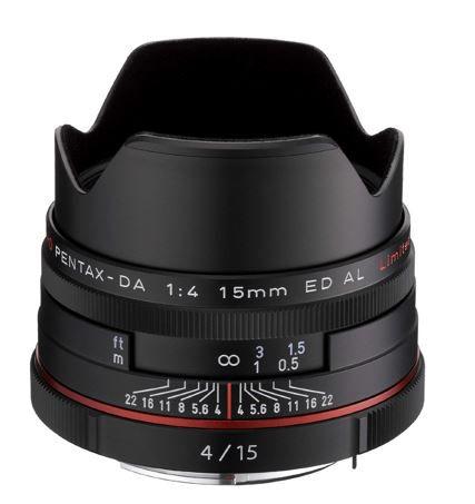 Preisfehler? Pentax 15 mm Objektiv mit F 4,0 HD DA ED AL Prime Lens nur 99,63€ statt 497€