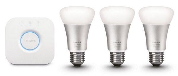 Philips Hue LED Starter Set Schnell! Philips Hue LED Starter Set mit Bridge für 115€ (statt 140€)