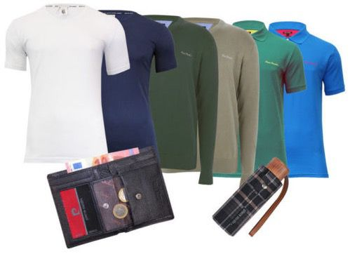 Pierre Cardin Mix Paket: Pullover, Poloshirts, T shirts etc. ab 79,95€