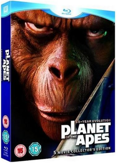 Planeet der Affen Planet der Affen   5 Filme Collectors Box auf Blu ray für 12,55€