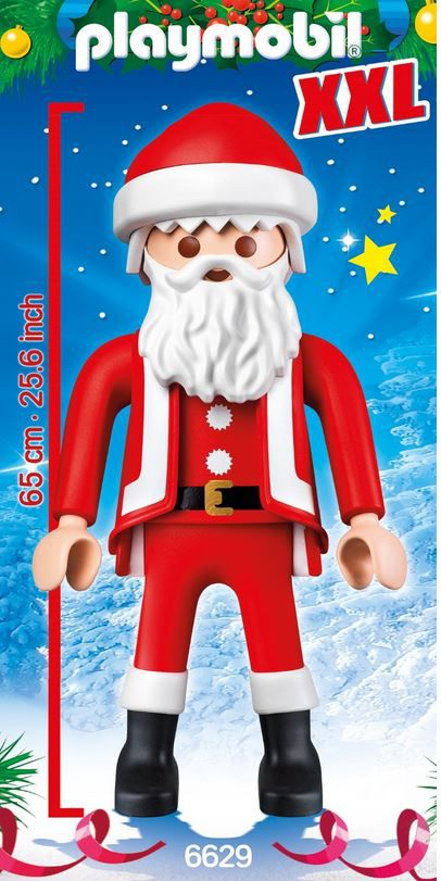 Playmobil 6629 Playmobil 6629   XXL Weihnachtsmann 67cm für 37,99€