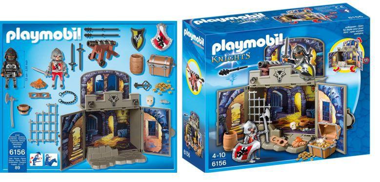 PLAYMOBIL Ritterschatzkammer   Aufklapp Spiel Box ab 10,79€