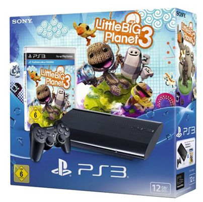 Playstation 3 mit 12GB Ultra Slim + Little Big Planet 3  (statt 198€) für 169,90€