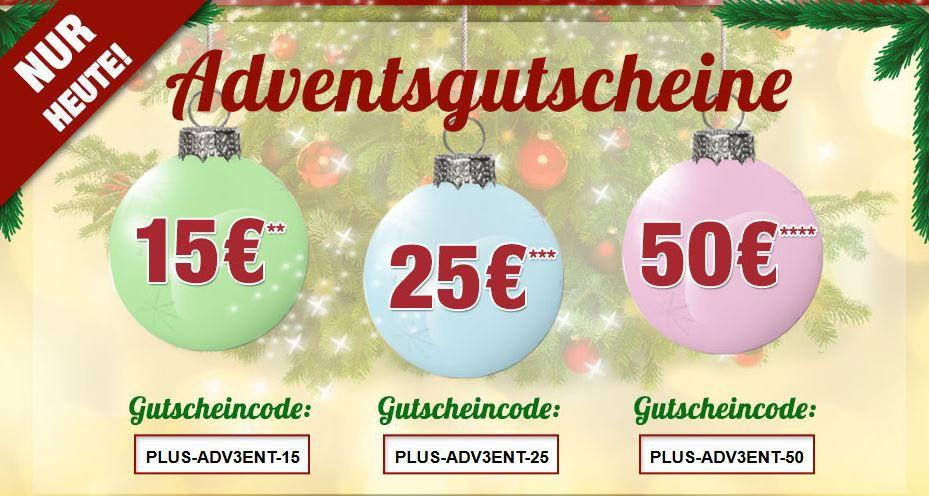 Plus Rabatt Aktion Plus.de mit bis zu 50€ Rabatt gekoppelt an den Warenwert   nur Heute