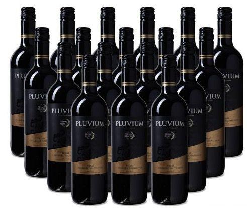 18 Flaschen Pluvium Bobal Cabernet Rotwein für 50€