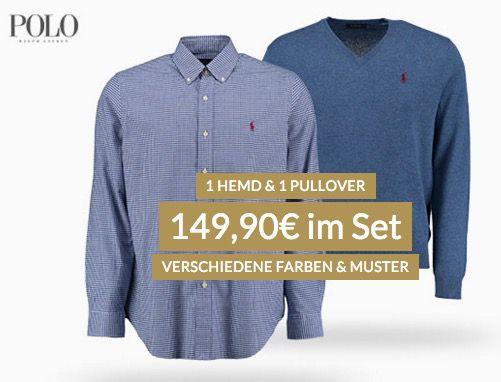 Polo Ralph Lauren Hemd & Pullover nur 144,90€