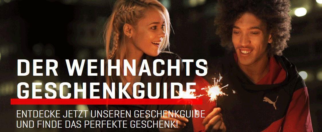 Puma Weihnachts sale 40% Rabatt dank Gutschein auf alle reguläre Artikel bei Puma