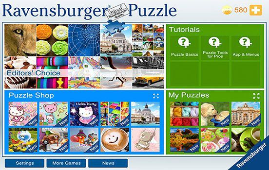Ravensburger Puzzle App (iOS) kostenlos   the jigsaw collection