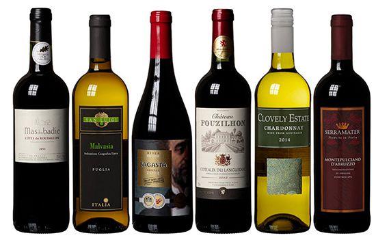 Reduzierte Weinpakete bei Amazon   z.B. 6 Roséweine ab 26,99€