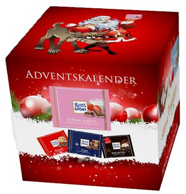 Ritter Sport Adventskalender XL Ritter Sport Adventskalender XL (2,4kg) ab 24,99€