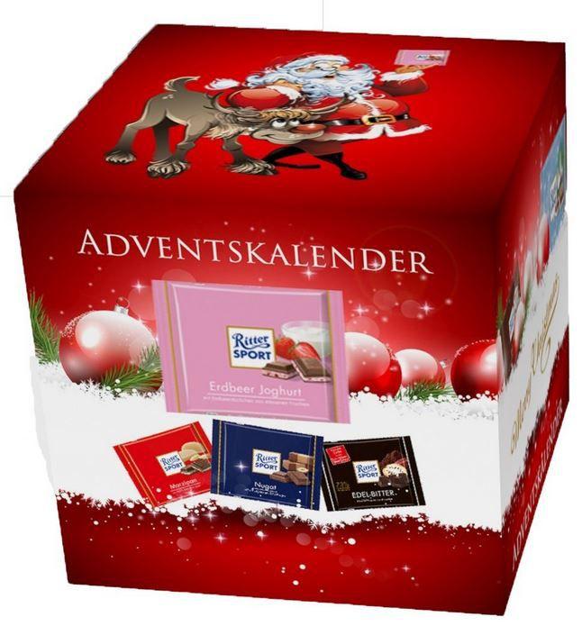 Ritter Sport Adventskalender XL (2,4kg) ab nur 14,99€