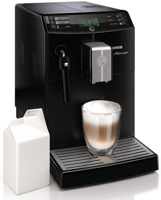 Saeco HD8761/01 Minuto Kaffeevollautomat, klassischer Milchaufschäumer statt 389€ für 269€