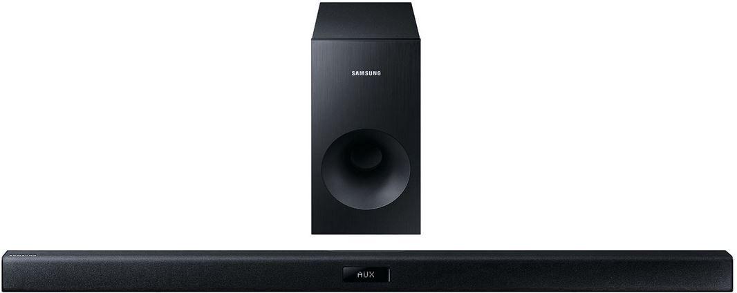 Samsung HW J355 2.1 Soundbar (120W, passiver Subwoofer, Bluetooth) für 89,90€