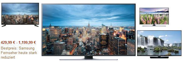 Samsung TV Aktion Samsung UE60JU6450   60 Zoll Ultra HD TV für 1.199€ im Amazon Samsung TV Tagesangebot