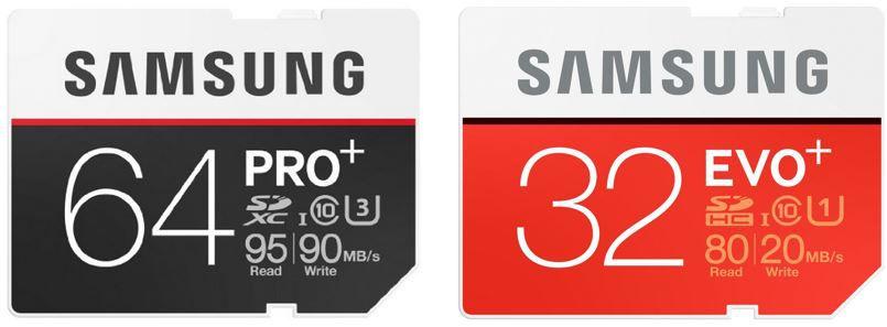Samsung Speicherkarten Pro + EVO Plus günstig als Amazon Mittwoch Angebot