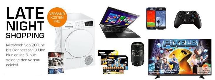 MICROSOFT Xbox One Wireless Controller statt 47 ab 32€ im Saturn Late Night Shopping