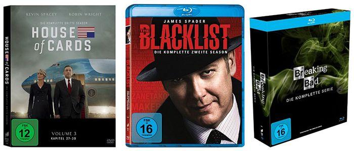 Amazon Filmfest   3 Serien kaufen, nur 2 zahlen