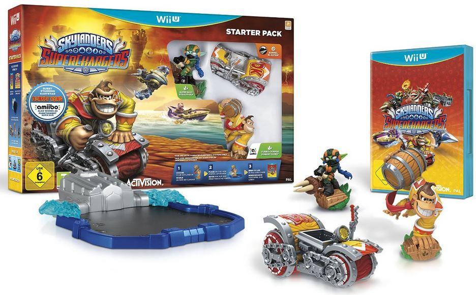 Skylanders SuperChargers: Wii U Starter Pack für 34,99€ (statt 45€)