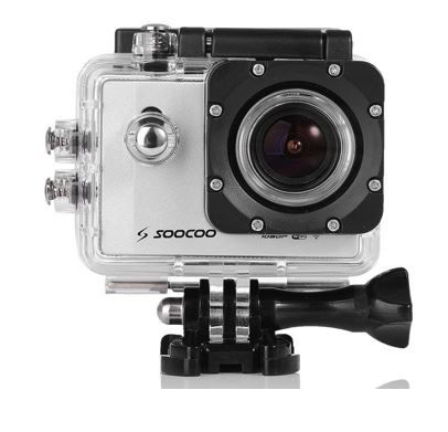 SOOCOO C10 Sport Action Digital Kamera Set   30m Wasserdicht für 67,99€
