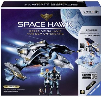 Space Hawk Starter Set inkl. Das dunkle Herz ab 24,99€ (statt 34€)