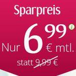 winSim All Net Flat + SMS Flat + 2 GB Daten LTE für 6,99€ mtl.