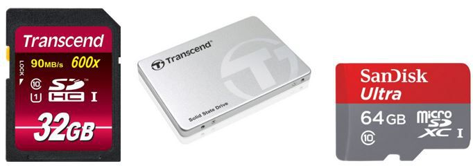 Speicherangebote Transcend interne SSD 128GB für 45,49€ im Amazon Speicherdeal heute