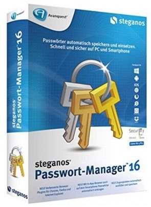 Steganos Passwort Manager 16 kostenlos (statt 10€)